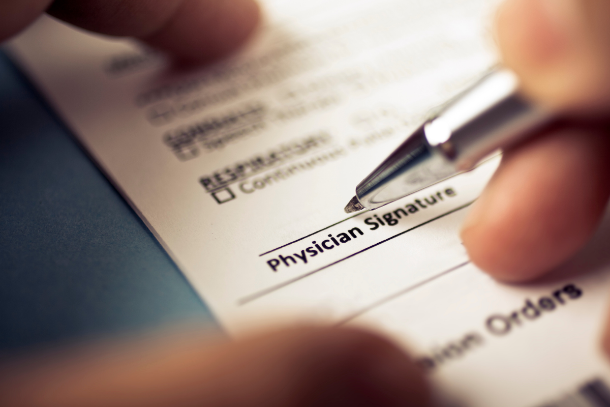 Physician DME Documentation Requirements